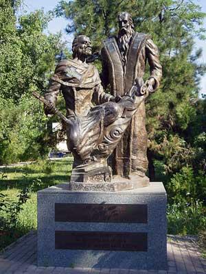 Памятник Кириллу и Мефодию в Одессе